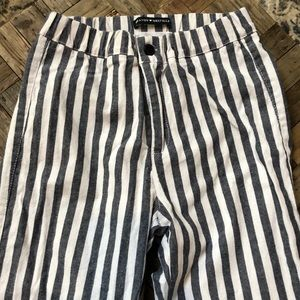 Brandy Melville Tilden striped pants. One Size